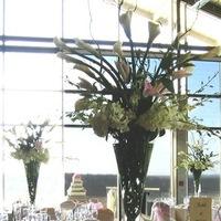 Reception, Flowers & Decor, white, pink, purple, Centerpieces, Flowers, Centerpiece