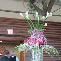 Reception, Flowers & Decor, white, pink, purple, Flowers