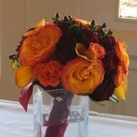 Flowers & Decor, Bridesmaids, Bridesmaids Dresses, Fashion, orange, brown, Bride Bouquets, Bridesmaid Bouquets, Flowers, Bouquet, The silver vase llc, Flower Wedding Dresses
