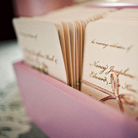 Stationery, Paper, pink, gold, Invitations, Ceremony Programs, Program, Goods, So happi together