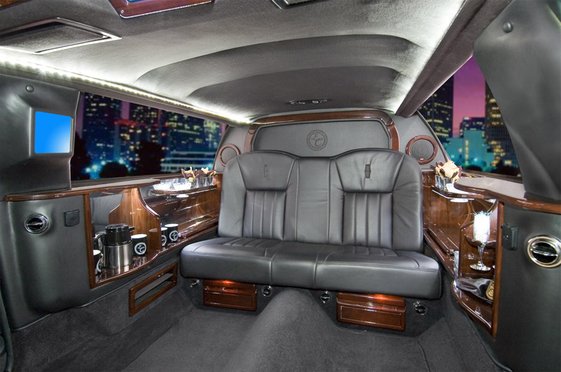 Limousine, Passenger, Interior, 6, Valley limo coach