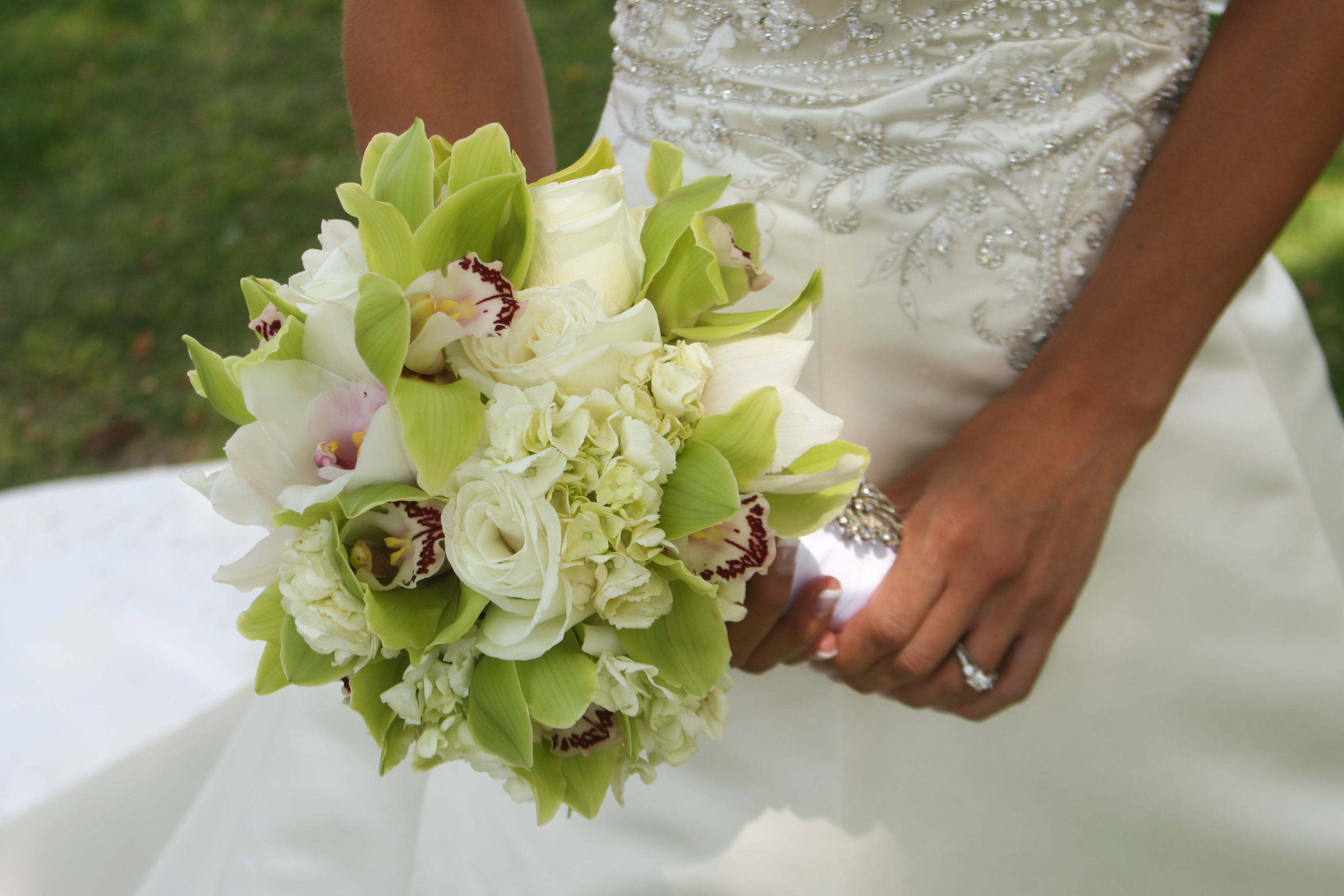 Ceremony, Reception, Flowers & Decor, Bridesmaids, Bridesmaids Dresses, Fashion, white, yellow, orange, pink, red, purple, blue, green, brown, black, silver, gold, Ceremony Flowers, Bridesmaid Bouquets, Centerpieces, Flowers, Bouquets, Florals, Exquisite blooms, Flower Wedding Dresses