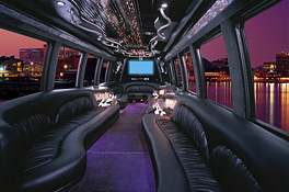 purple, black, Party, Limousine, inc, Limo, Bus, Limos, Corporate limousines of tx