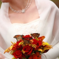 Flowers & Decor, red, Bride Bouquets, Flowers, Bouquet, Brides, Precious petals pepper berries