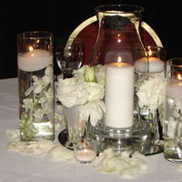 Inspiration, Reception, Flowers & Decor, Centerpieces, Candles, Centerpiece, Board