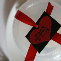Favors & Gifts, Cakes, red, black, cake, favor, Sugar