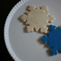Favors & Gifts, blue, silver, favor, Winter, Wedding, Cookie, Sugar