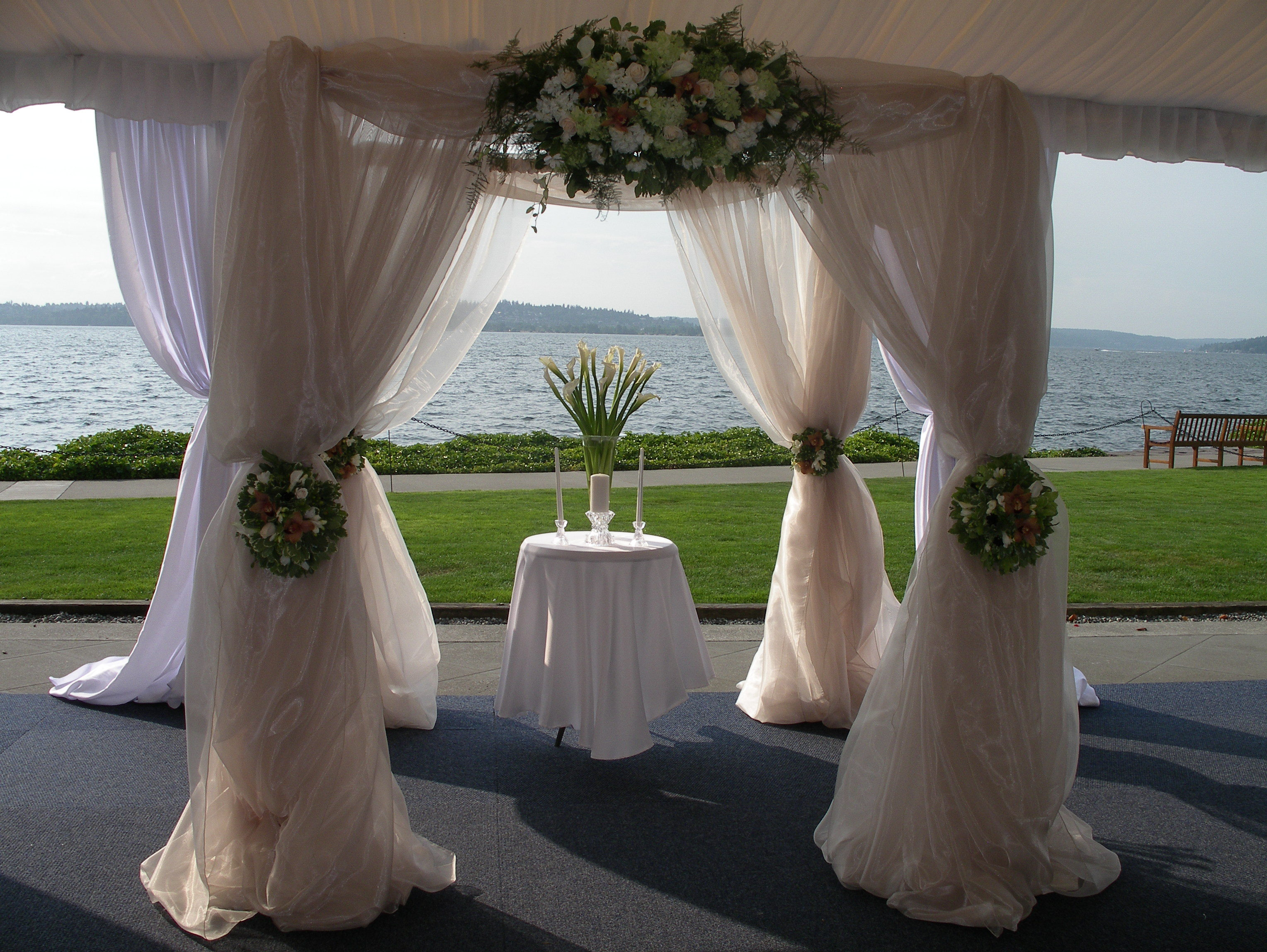Ceremony, Reception, Flowers & Decor, white, A tailored affair