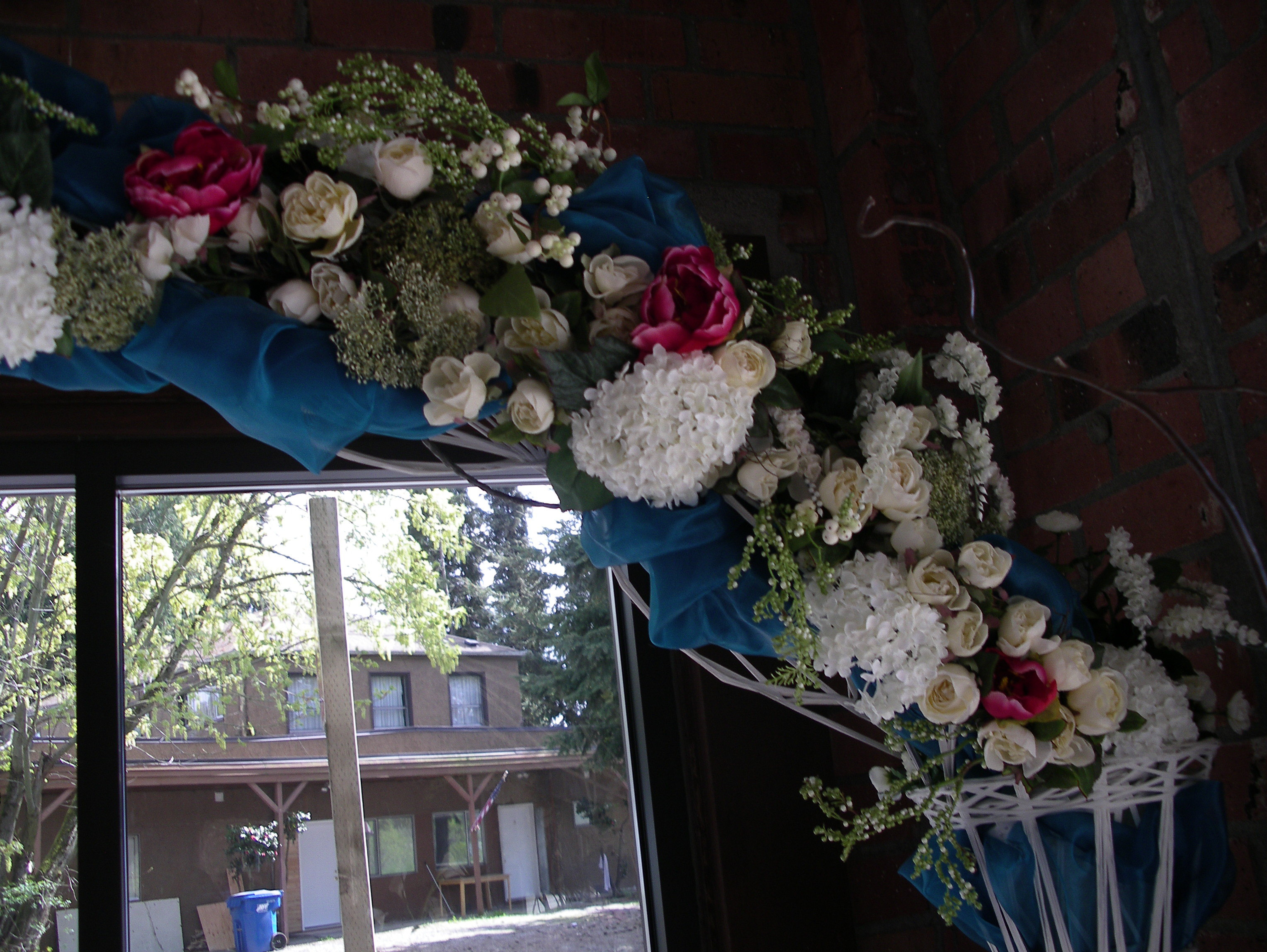 Reception, Flowers & Decor, A tailored affair