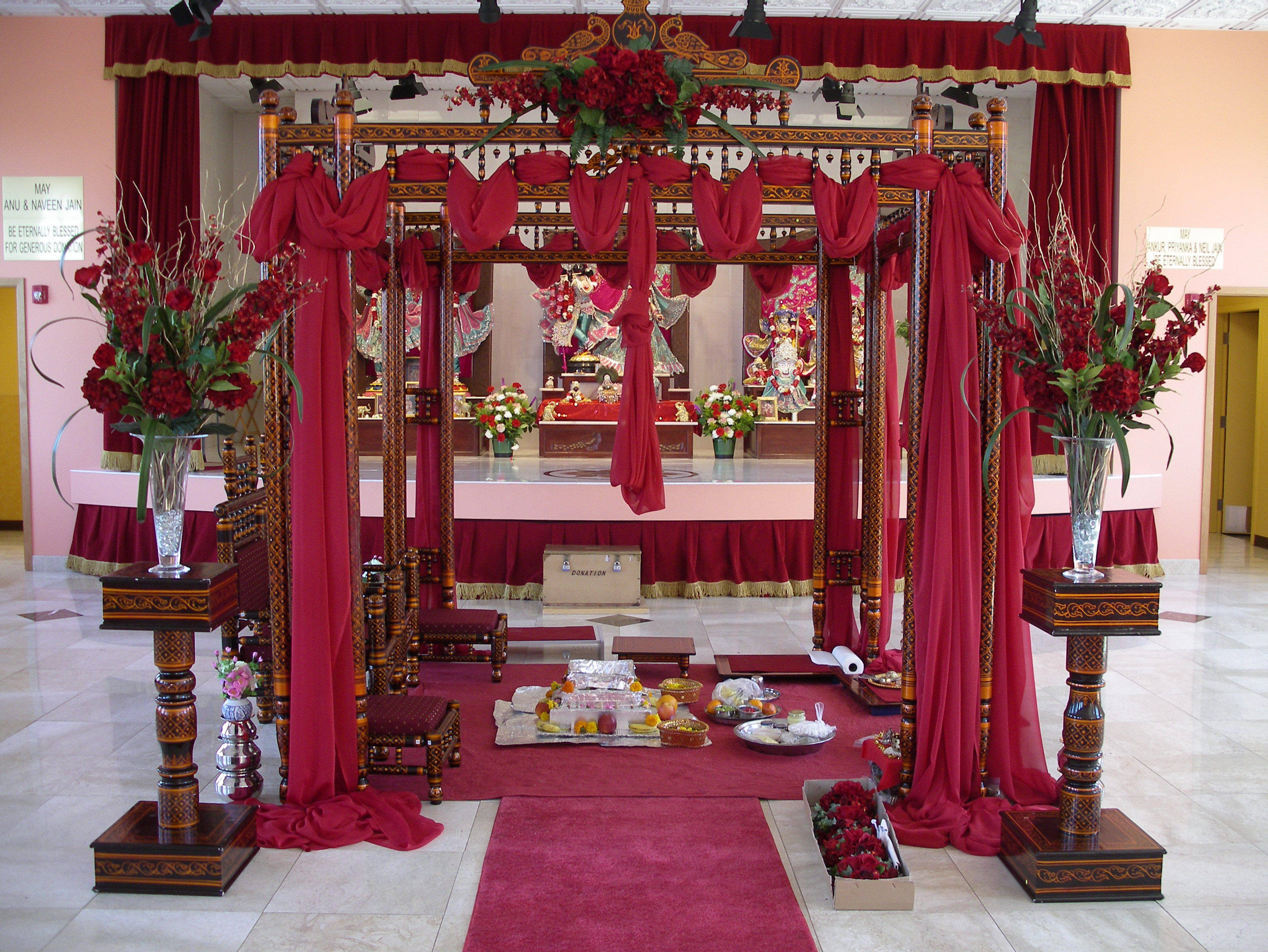 Ceremony, Flowers & Decor, red, A tailored affair
