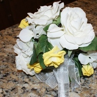 Flowers & Decor, white, yellow, Flowers, Pink florals