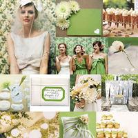 Inspiration, white, green, Board