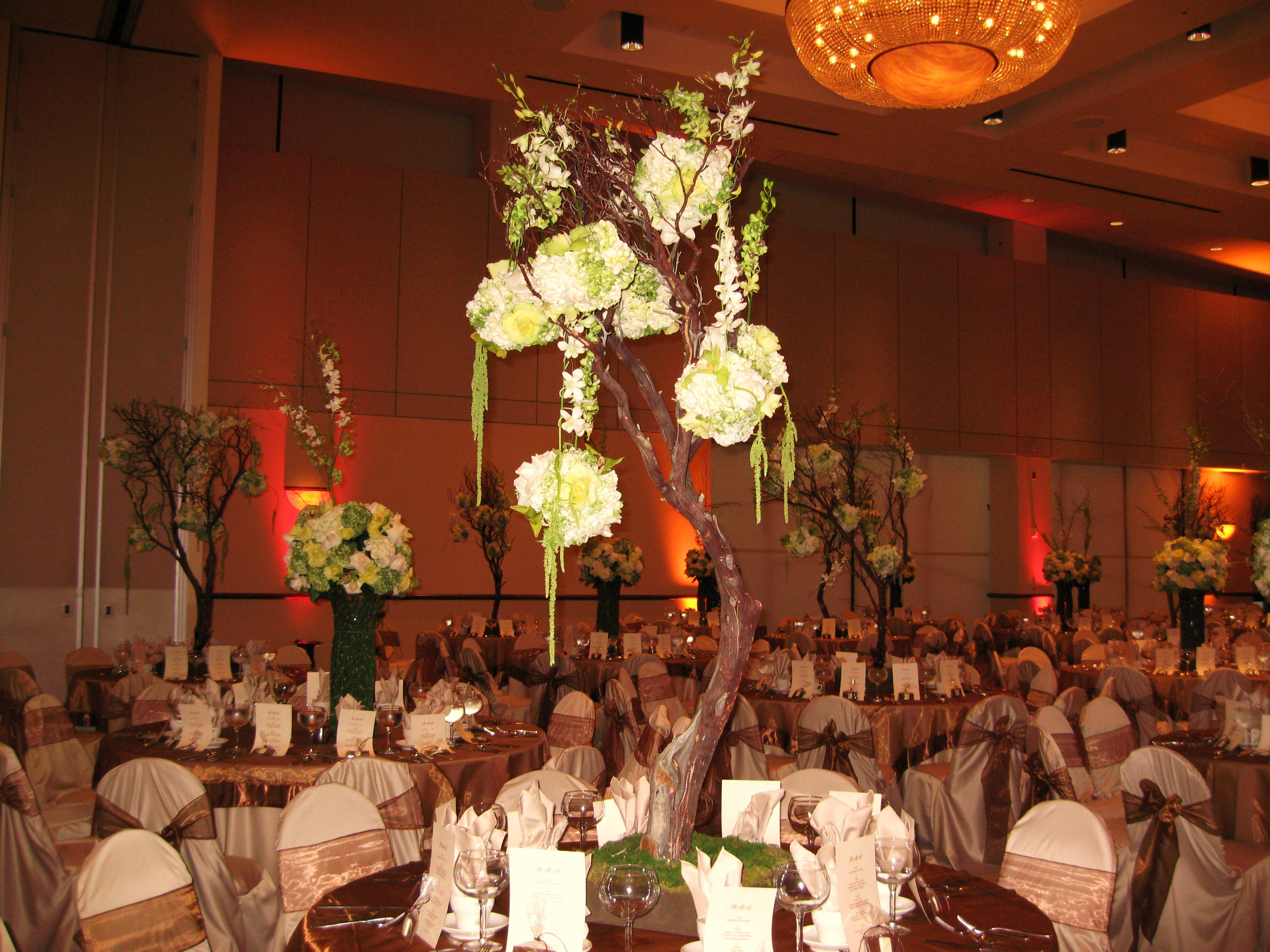 Reception, Flowers & Decor, white, orange, green, brown, gold, Lighting, Table, Chair, Covers, Overlays, Cloths, Pure elegance