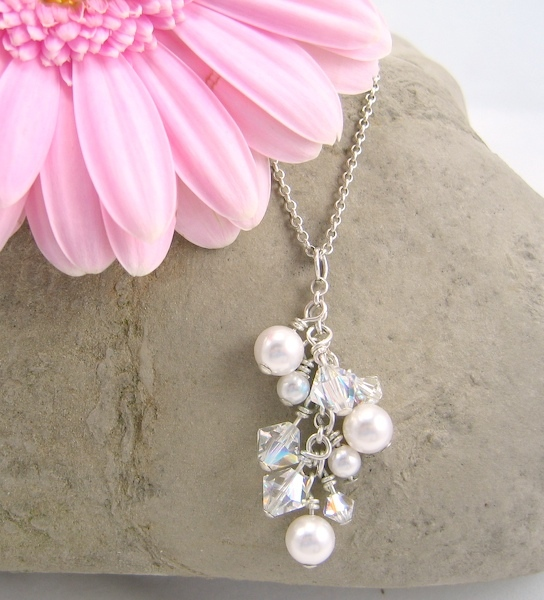Jewelry, Bridesmaids, Bridesmaids Dresses, Fashion, Necklaces, Bridesmaid, Bridal, Crystal, Necklace, Emmas bridal jewelry