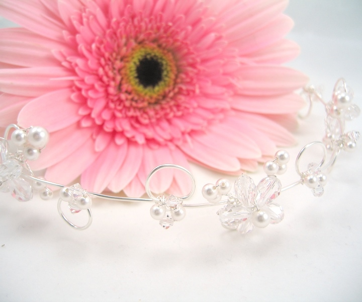 Beauty, Jewelry, white, Tiaras, Bride, Hair, Tiara, Crystal, Emmas bridal jewelry