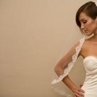 Beauty, Veils, Fashion, white, Veil, Wedding, Hair, Mantilla