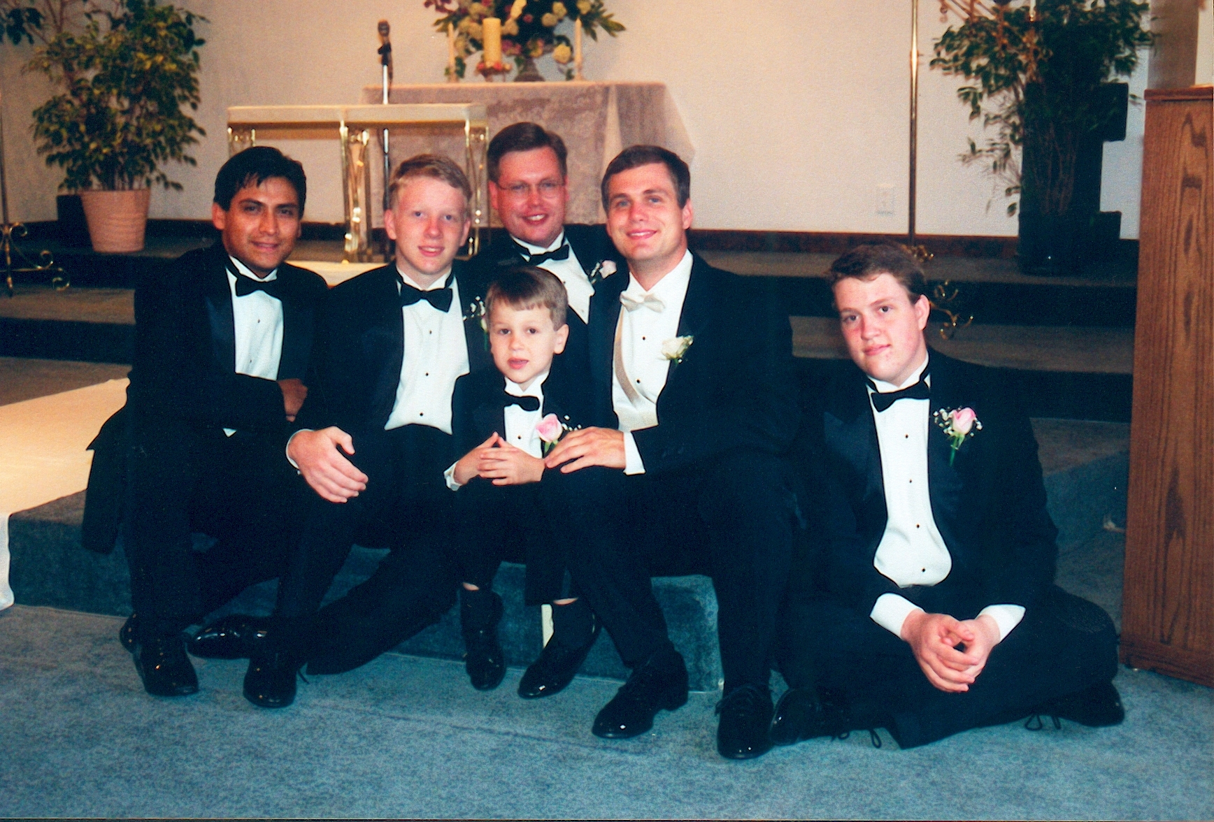 Groomsmen, Groom, Ring, Bearer