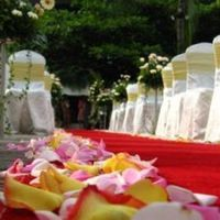 Ceremony, Flowers & Decor, Decor, red, Ceremony Flowers, Garden, Outdoor, Flowers, Garden Wedding Flowers & Decor, With, Glow weddings and events
