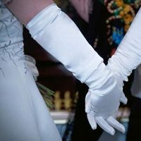Ceremony, Flowers & Decor, ivory, Gloves, Opera gloves