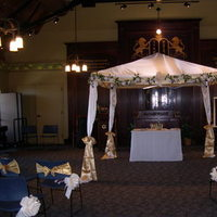 Ceremony, DIY, Flowers & Decor, ivory, gold, Chuppah