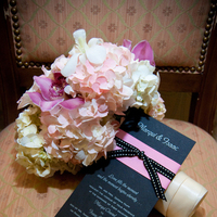 Ceremony, Reception, Flowers & Decor, Jewelry, Stationery, pink, black, silver, Ceremony Flowers, Garden Wedding Invitations, Invitations, Flowers, Etc, Soiree