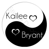 Favors & Gifts, Stationery, Favors, Invitations, Monogram, Wedding, And, You, Thank, Personalized, Stickers, Yin, Yang, Party doodles, Yinyang