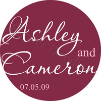 Favors & Gifts, Stationery, Favors, Invitations, Monogram, Wedding, You, Thank, Personalized, Stickers, Party doodles