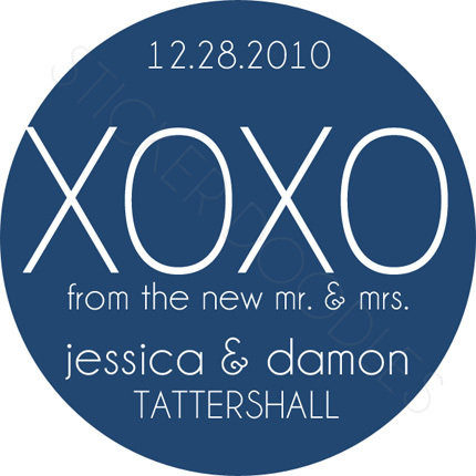 Favors & Gifts, Stationery, Favors, Invitations, Monogram, Wedding, And, You, Thank, Personalized, Stickers, Kisses, Party doodles, Hugs, Xoxo