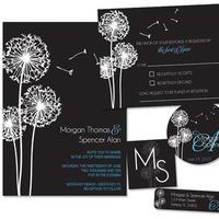 Stationery, blue, black, invitation, Invitations, Monogram, Stationary, Rsvp card, Lw designs, Return address label