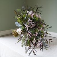 Flowers & Decor, pink, purple, blue, green, Bride Bouquets, Flowers, Bouquet, Cascade, Floral verde llc