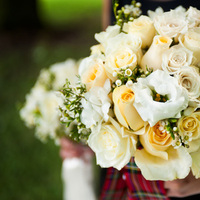 Flowers & Decor, white, ivory, yellow, Bride Bouquets, Flowers, Roses, Bouquet