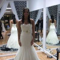 Wedding Dresses, Fashion, white, yellow, gold, dress, Sash, Vera, Wang, Silk, Netting, The dress doctor, Silk Wedding Dresses