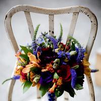 Flowers & Decor, orange, red, purple, blue, green, Bride Bouquets, Flowers, Bouquet, Bridal, Tone, Jewl, Floral occasions
