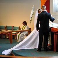 Ceremony, Flowers & Decor, red, Ceremony Flowers, Bride Bouquets, Bride, Flowers, Groom, Church, Peak events llc