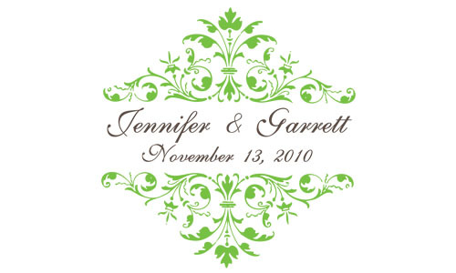 Stationery, green, brown, Invitations, The, Save, Date, Monograms, Stationary, Rsvp cards