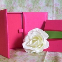 Favors & Gifts, Stationery, pink, green, invitation, Favors, Invitations, Menus, Box, Silk, Luxury, Folio, Southern charm design