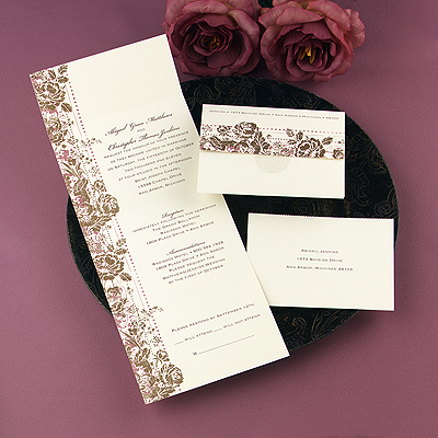 Stationery, Vintage, Rustic, Invitations
