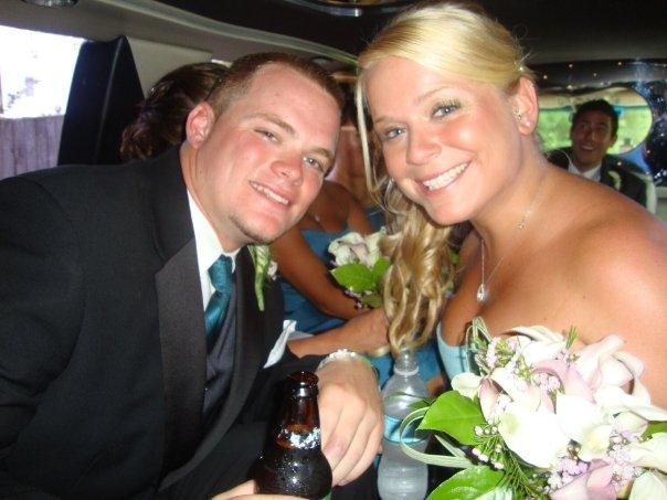 Ceremony, Reception, Flowers & Decor, white, blue, Wedding, Limousine, A limo affair