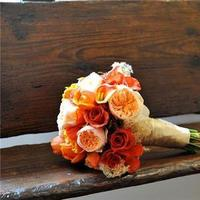 Flowers & Decor, orange, Bride Bouquets, Flowers, Bouquet, Erin borges event design
