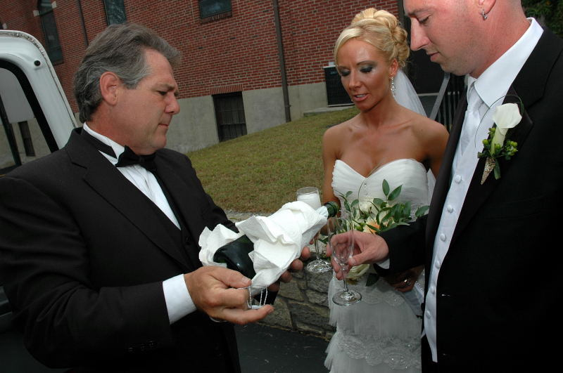 Ceremony, Flowers & Decor, Wedding Dresses, Fashion, white, dress, Limousine, A limo affair