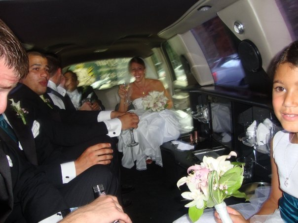 Wedding Dresses, Fashion, white, dress, Limousine, Escalade, A limo affair