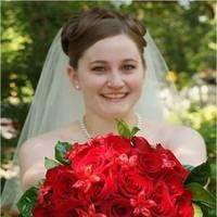 Flowers & Decor, Wedding Dresses, Fashion, white, red, dress, Bride Bouquets, Bride, Flowers, Bouquet, Flower Wedding Dresses