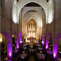 Ceremony, Reception, Flowers & Decor, purple, Lighting