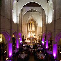 Ceremony, Reception, Flowers & Decor, purple, Lighting