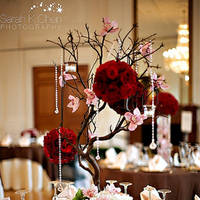 Flowers & Decor, Centerpieces, Flowers, Centerpiece, Table, Setting, White house catering