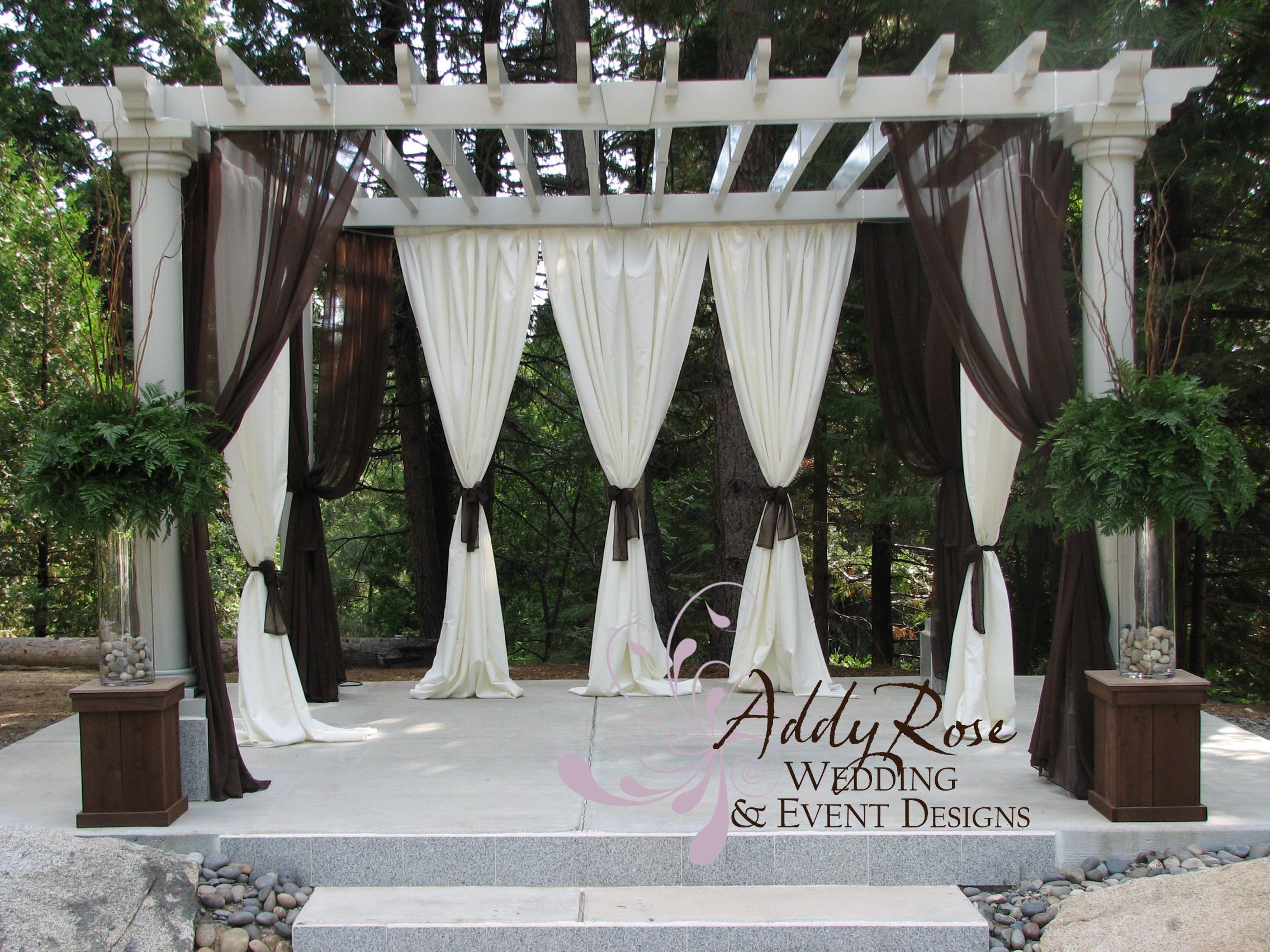 draping of gazebo at paradise springsvendors addyrose wedding amp event designs project wedding. Black Bedroom Furniture Sets. Home Design Ideas