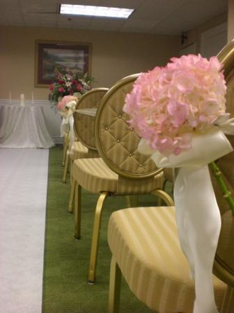 Ceremony, Flowers & Decor, pink, Ceremony Flowers, Flowers, Hydrangea, Inn, Nassau, Monday morning flowers