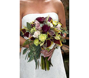 Flowers & Decor, Bridesmaids, Bridesmaids Dresses, Fashion, purple, silver, Bride Bouquets, Bridesmaid Bouquets, Flowers, Roses, Bouquet, Wedding, Lavender, Amnesia, Flower Wedding Dresses