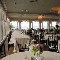Reception, Flowers & Decor, pink, green, gold, Tables & Seating, Chiavari, Chairs