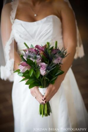Flowers & Decor, Bridesmaids, Bridesmaids Dresses, Fashion, purple, blue, Bride Bouquets, Bridesmaid Bouquets, Flowers, Bouquet, Bridal, And, Bouqet, Thistle, Monday morning flowers, Flower Wedding Dresses